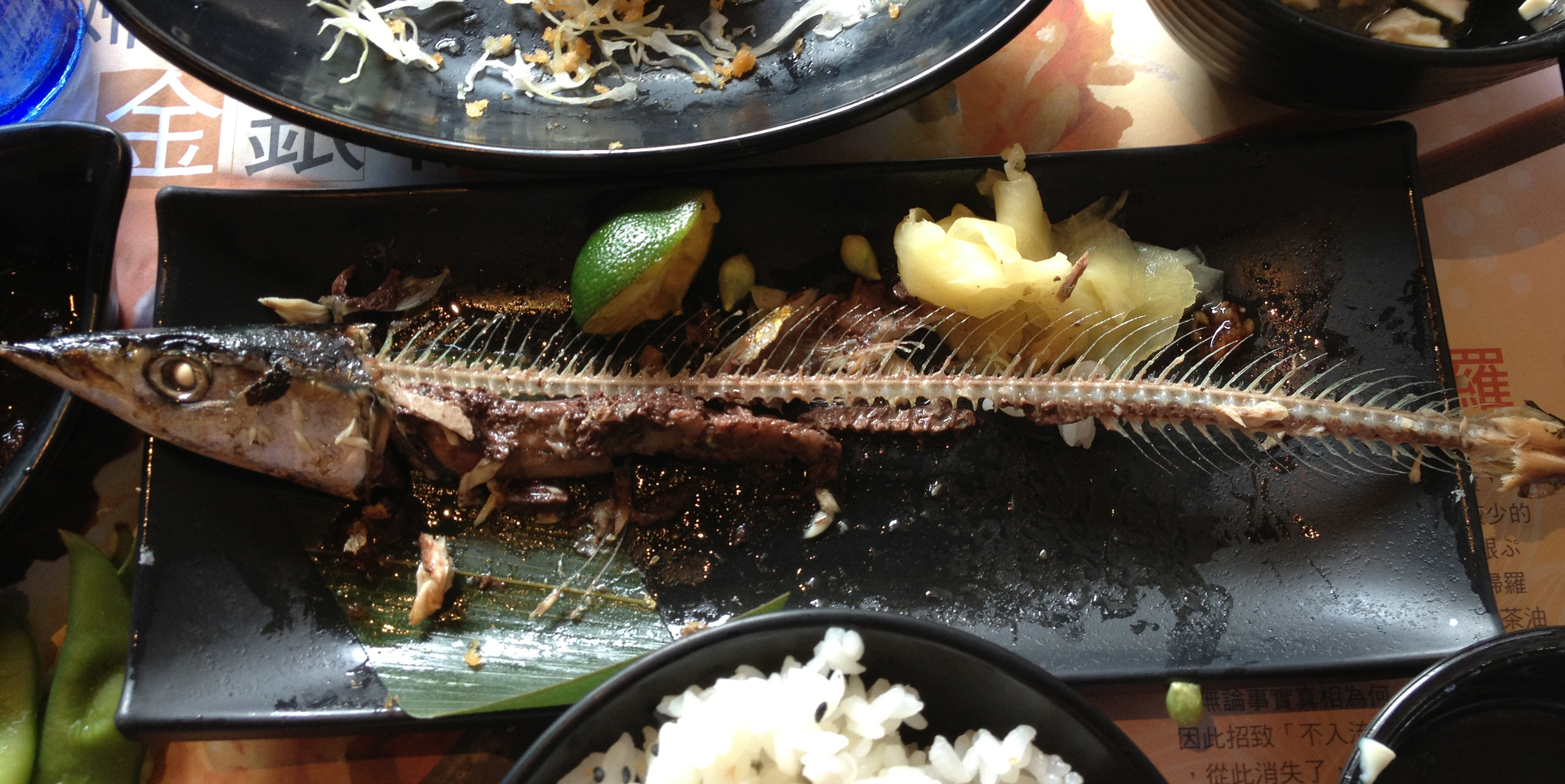 How to cook saury